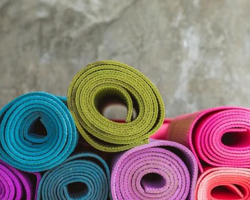 Yogamatte für dein eigenes Work-Out