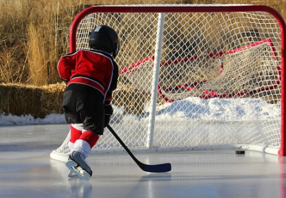 Erstklassige Ausrüstung für Eishockey